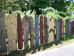 Whimsical Birdhouse Fence Pallet Fence Bird Houses Diy Bird Houses