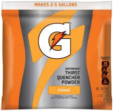gatorade orange 2 5 gallon powder