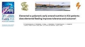 elemental vs polymeric early enteral