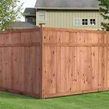 6 Ft H X 8 Ft W Color Treated Stain Pressure Treated Pine Flat Top Wood Fence Panel Lowes Com In 2020 Wood Fence Fence Panels Privacy Fence Designs