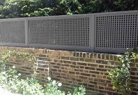 Painted Classic Bespoke Trellis Panels Wooden Fence Trellis Panels Essex Uk The Garden Trellis Company