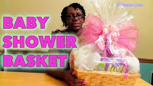 diy baby shower gift basket tutorial