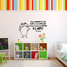 Dr Seuss The Lorax Character And Quote Unless Someone Like You Care A Whole Awful Lot Vinyl Wall Decal Customvinyldecor Com