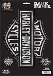 Amazon Com Chroma 3276 Harley Davidson Classic Emblem Decal Harley Davidson Automotive