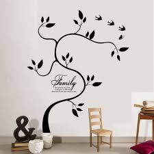 Yoyoyu 40 Colors Vinyl Wall Sticker Family Tree Removeable Wall Decal Bedroom Saloon Home Decor Art Poster Diy Zx115 Wall Stickers Aliexpress