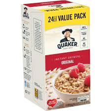quaker instant oatmeal original value