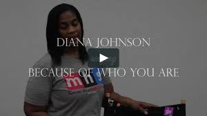 Diana Johnson singing Because of Who You Are on Vimeo