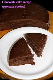 chocolate cake recipe in pressure