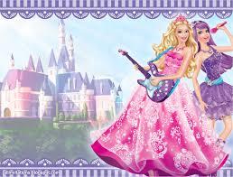 All Invitations Invitacion Barbie Popstar
