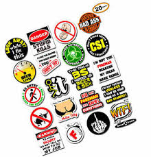 Mens Funny Hard Hat Accessories Stickers Laminated Vinyl Decal Bumper Jokes 20 Ebay