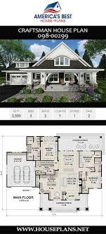house plan 098 00299 craftsman plan