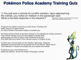 OC] Pokemon Police Quiz! (Zoom in on the 'Q' in Quiz for the ...