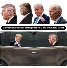 2020 Donald Trump Decals Car Stickers Biden Funny Left Right Window Peel Off Waterproof Pvc Car Window Decal Party Supplies Cca12500 From Liangjingjing Kitche 1 76 Dhgate Com