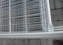 Construction Site Fencing Temp Fence Panels Hot Dipped Galvanized Pipe