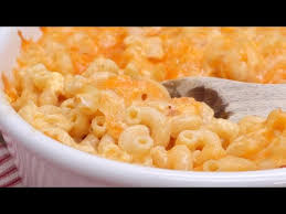 creamy baked macaroni cheese