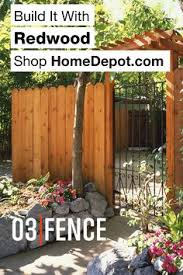 1 X6 X6 Redwood Construction Common Dog Ear Fence Picket 8 Pack Small Backyard Landscaping Backyard Landscaping Garden Bed Layout