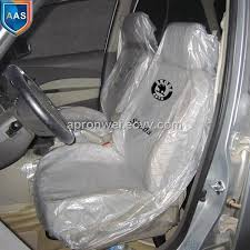 disposable plastic car seat cover from