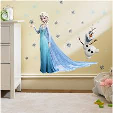 Queen Elsa Princess Frozen Wall Decal Kids Room Removable Home Decor Stickers Kids Room Wall Decals Kid Room Decor Kids Wall Decals