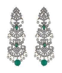 indian chandelier earrings