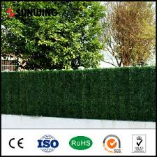 China Small Plastic Artificial Green Leaves Plant Lattice Fence For Garden China Fence Fencing