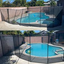 Southern California Pool Fence Installer Protect A Child In 2020 Pool Fence California Pools Pool Safety Fence