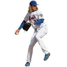 Noah Syndergaard New York Mets Fathead Life Size Removable Wall Decal Walmart Com Walmart Com