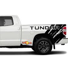 Toyota Tundra 2014 2020 Custom Vinyl Decal Kit Tundra Quarter