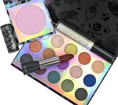 colourpop x disney villains makeup