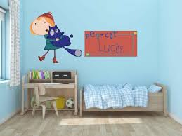 Peg And Cat Wall Decal Stickers Bedroom Wall Murals Peg And Etsy