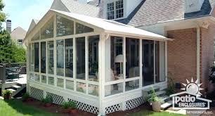 diy enclosed patio outdoor tv enclosure