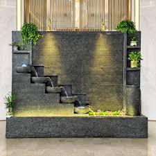 water curtain wall fountain home villa