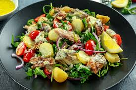 Mackerel & Egg Potato Salad Recipe ...
