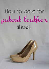 how to care for patent leather shoes