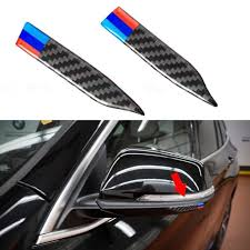 Carbon Fiber Decal Car Rearview Mirror Anti Scratch Trim Sticker For B Xotic Tech