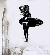 Surfboard Wall Decals For Sale Custom Amazon Surfer Sticker Art Uk Canada Philippines Vamosrayos
