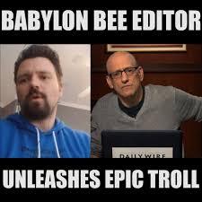 Andrew Klavan - Babylon Bee Editor ...