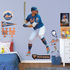 New York Mets Pete Alonso Fathead 11 Pack Life Size Removable Wall Decal