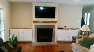 need help with shelving around fireplace