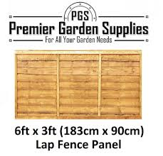 Fence Panels Brand New 6 Ft X 2 Ft Larch Lap Fence Panel Garden Wooden Fencing Rrp 25 Garden Patio Tallergrafico Com Uy