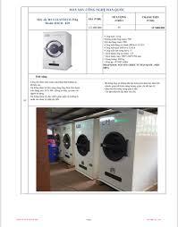 Báo giá bán máy sấy quần áo đồ vải công suất lớn dùng cho giặt là