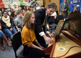 The Day - Groton students wowed by French harpsichord performer ...