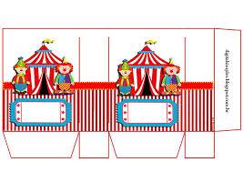 El Circo Bolsas De Papel Para Imprimir Gratis Ideas Y Material