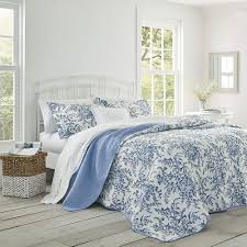 laura ashley blue and white bedding