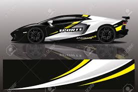 Sport Car Decal Wrap Design Vector Sport Car Decal Wrap Design Royalty Free Cliparts Vectors And Stock Illustration Image 139565916