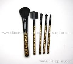 leopard print makeup brushes saubhaya