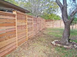 The Horizontal Fence Trend