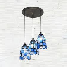 bell pendant lamp tiffany style glass