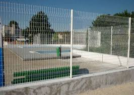 High Security Glavanized And Pvc Powder Coated Welded Wire Mesh Fence