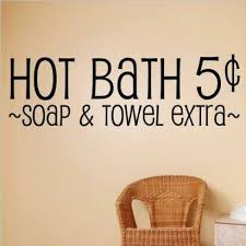 Design With Vinyl Hot Bath 5 Soap Towel Extra Wall Decal Wayfair