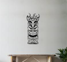 World Menagerie Hawaiian Tiki Wall Decal Wayfair